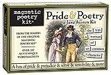 Pride and Poetry: A Jane Austen Kit- Fridge Magnet Set - Fridge Poetry