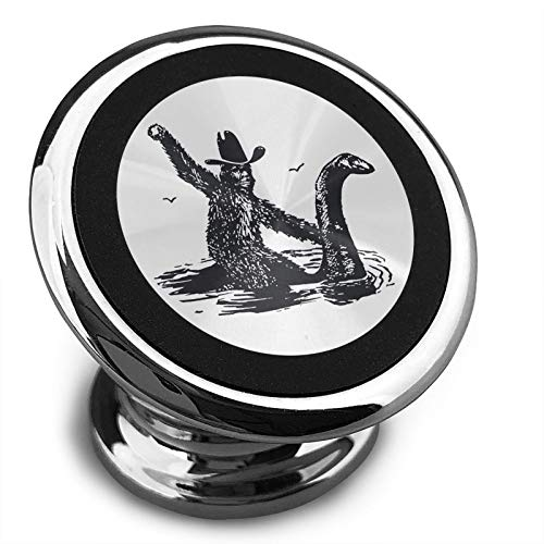 Check Out This Twhoixi Nessie Sasquatch Magnetic Car Phone Holder