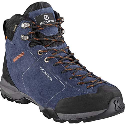 Scarpa Herren Mojito Hike GTX Trekking-& Wanderstiefel, Blue Cosmo-Tonic Gore-tex HKA Salix, 47 EU