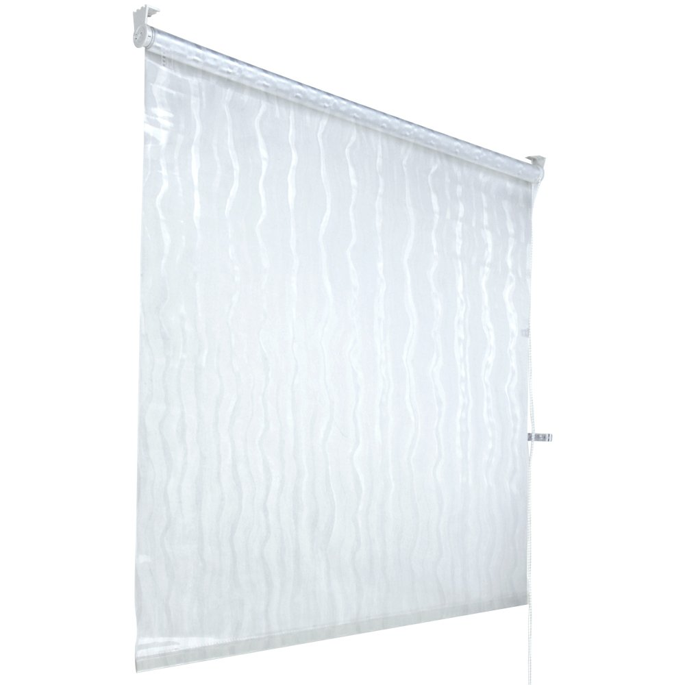 Aquamarin – Cortina transparente enrollable para la ducha – 140 x 240 cm: Amazon.es: Hogar