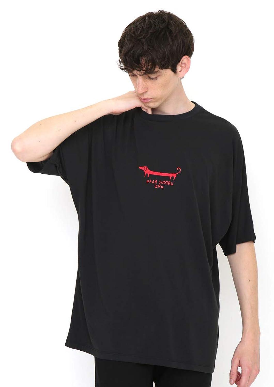 (グラニフ) graniph ドルマン Tシャツ (ナガスギルイヌ) (スミクロ) メンズ レディース (g01) (g14)