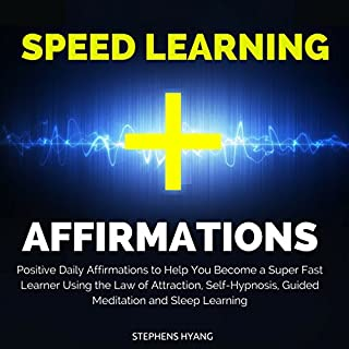 Speed Learning Affirmations cover art