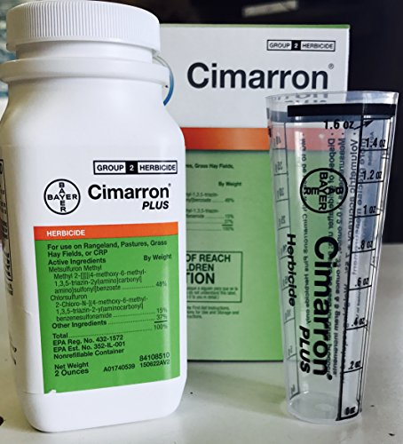 Cimarron Plus Range and Pasture Herbicide with Metsulfuron...