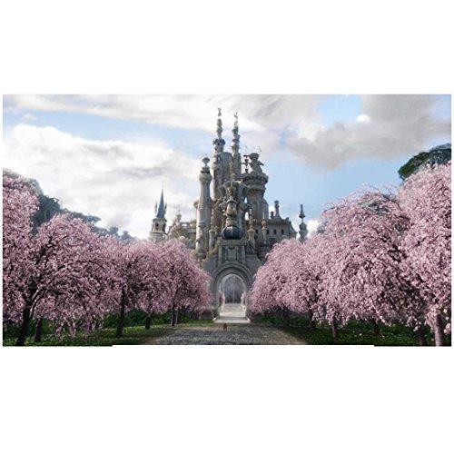 Alice in Wonderland the White Queen's castle 8 x 10 Inch Photo