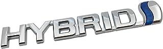 TK-KLZ 3D Metal Hybrid Logo Car Side Fender Rear Trunk Emblem Badge Decals Sticker for Jeep Dodge Mercedes BMW Mustang Volvo Chevrolet Nissan Audi VW Ford Honda Toyota Jaguar
