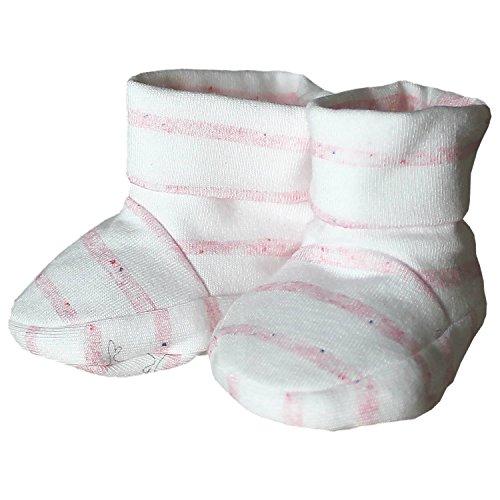 maximo Babyschuhe rosa/weiß 3-6 Mon.