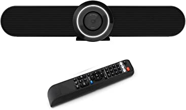 Video Conference Room Camera for Small Meeting Room, HD 1080P - 90°Wide Angle - Prime Lens,Built in Microphone and Speaker...