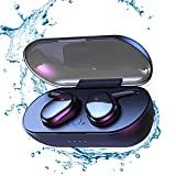 Cuffie Bluetooth,Auricolare Bluetooth Senza Fili,24h Playtime 3D stereo HD Cuffie Wireless,Cuffie In-Ear,Controllo Touch,Adatto Compatibile con iPhone/Android/Apple Airpods/Samsung/Huawei