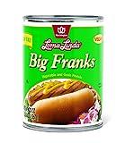 Loma Linda Low Fat Big Franks - 20 oz. (Pack of 6)