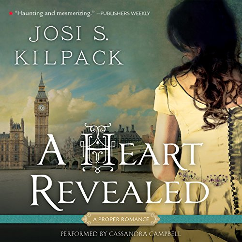 A Heart Revealed audiobook cover art