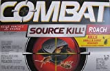 Combat Source Kill 5, Kills Small & Large Roaches At Their Source, Kills Roaches for 3 Months, 12 BAIT STATIONS roach killing Apr, 2021