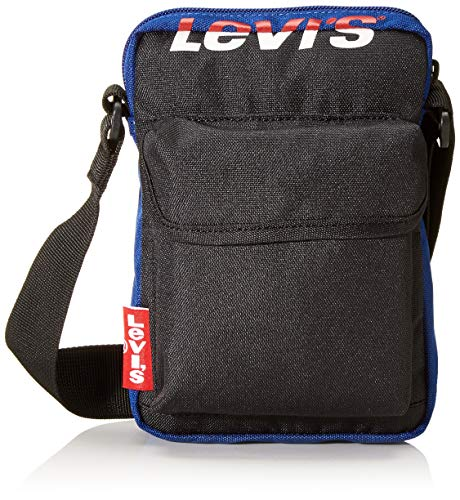 LEVIS FOOTWEAR AND ACCESSORIES homme L Series Small Cross Body Color Block Besace Bleu (Marine)