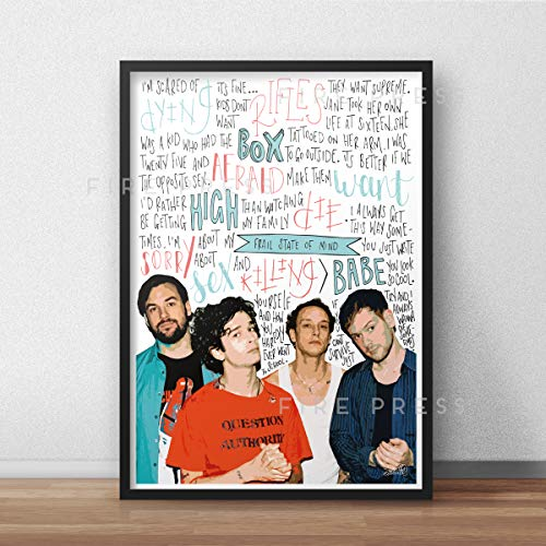 The 1975 INSPIRED Poster/Print