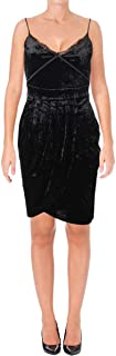 Juicy Couture Women's Track Crushed Velour Cami Tulip Dress