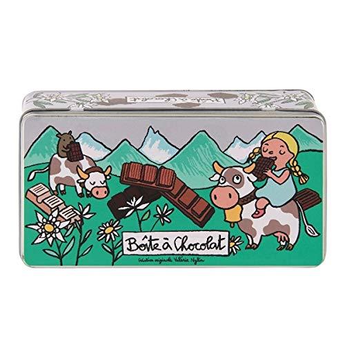 Derriere la Porte - Caja de chocolate con tabletas