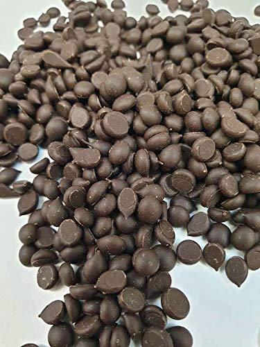 Schokoladen Tropfen Zartbitter Schokolade (mind. 50{a4f9c2bab262b81652c42143bbb1f99127bb76b7d27c31c8b18273a598361b59} Kakao) (1 kg): Callets Kuvertüre als Glasur, für Schokoladenfondues und -brunnen sowie alle Schokoladenrezepte