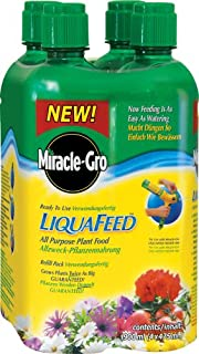 Miracle-Gro LiquaFeed All Purpose Plant Food Refills 4 Pack (B001VEJC1W) | Amazon price tracker / tracking, Amazon price history charts, Amazon price watches, Amazon price drop alerts