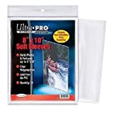 1 Pack (50) Ultra Pro 8 X 10 Photo Storage Sleeves Holders Protection 8x10