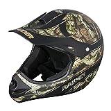 Raider 24-630-MOY-15 Youth Kids Boys Girls Ambush MX Off-Road Helmet