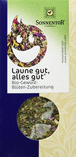 Sonnentor Laune gut, alles gut Gewürz-Blüten-Zubereitung, 1er Pack (1 x 25 g) - Bio