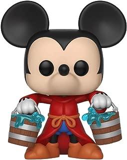 Funko Pop Disney: Mickey's 90Th - Figura coleccionable de Mickey Aprendiz, multicolor, -, Estándar, Multicolor