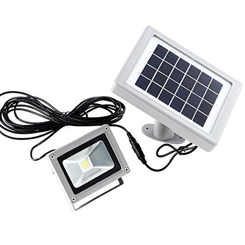 LED Lampe Solaires Luminaire Eclairage, AOKARLIA Applique murale extérieure, Aluminium Lumières de jardin - 2W intégré Source de lumière