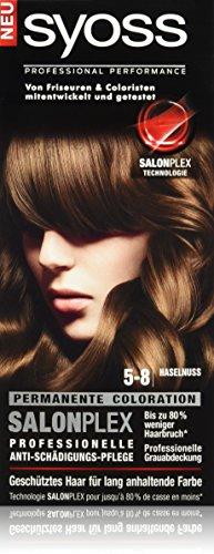 Syoss Haarfarbe, 5-8 Haselnuss, 3er Pack (3 x 115 ml)