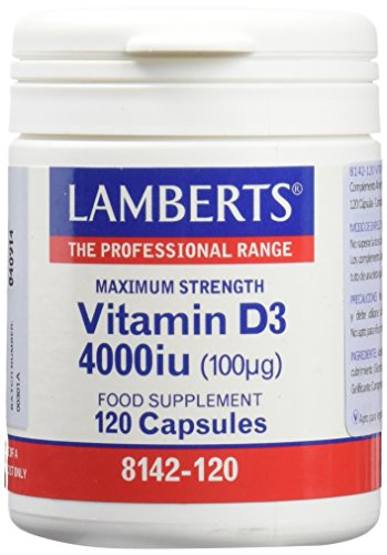 LAMBERTS - VITAMINA D3 4.000ui 120perl L8412120