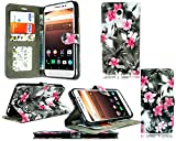 Alcatel a3 xl (6.0) Preimum PU leather wallet book flip