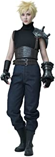 miccostumes Men's Remake Cloud Strife Cosplay Costume