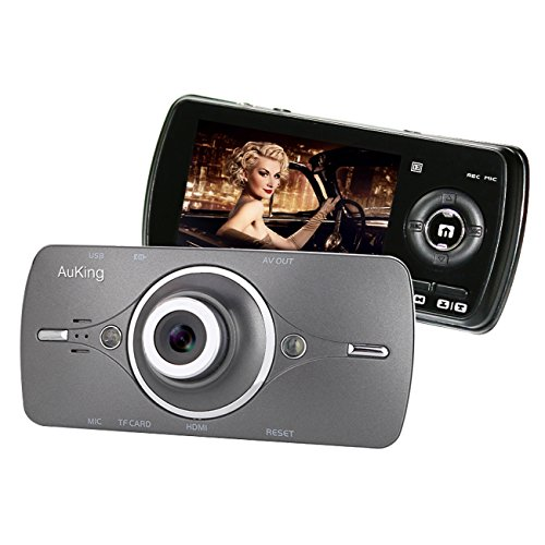 Dash Cam,AuKing 2.7' LCD Full HD 1080P in Car...