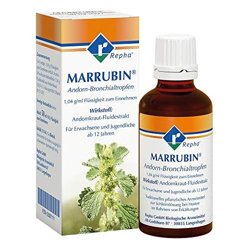 Marrubin Andorn-Bronchialtropfen zur Schleiml�sung, 50 ml