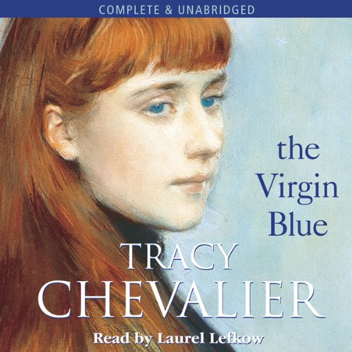 The Virgin Blue audiobook cover art