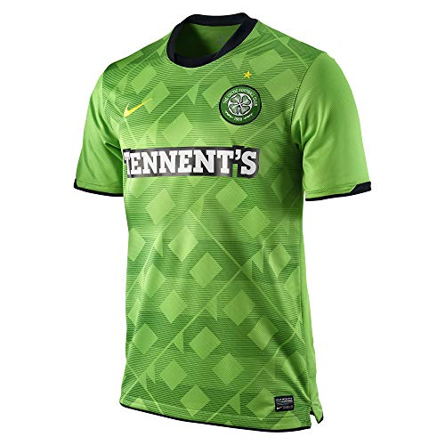 Nike Men's Celtic FC Football Club Tennent's Soccer 2010-11 Dri-Fit Jersey (Green, Small)