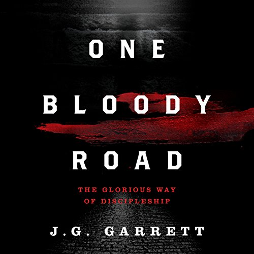 One Bloody Road audiobook cover art