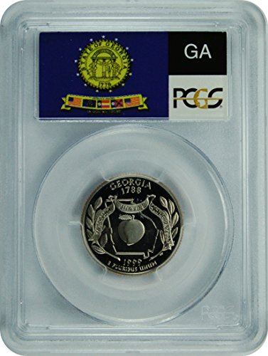 1999 S Georgia Statehood Georgia Statehood Quarter DCAM PCGS PR-69