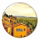 Italia Toscana Imán de Nevera, imán Decorativo, Ciudad turística, Viaje, colección de Recuerdos, Regalo, Pegatina Fuerte para Nevera