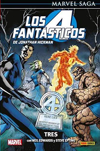 Los 4 Fantásticos de Jonathan Hickman 3. Tres