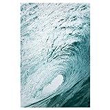 artboxONE Poster 30x20 cm Natur Surfer Wave hochwertiger