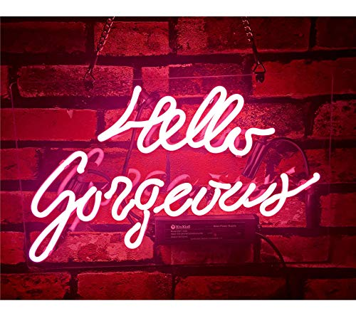 Gritcol Pink Hello Gorgeous Neon...