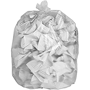 Customer reviews 20 EcoBag Clear Recycling Bags 100L 88 Gauge:Eventmanager