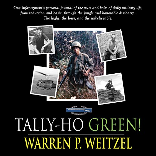 Tally-Ho Green audiobook cover art