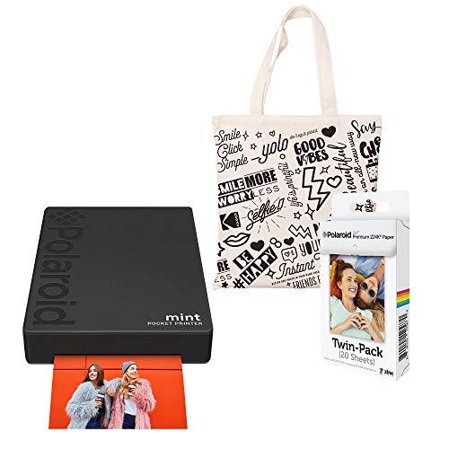 Polaroid Mint zakprinter (zwart) Starter Kit met tas