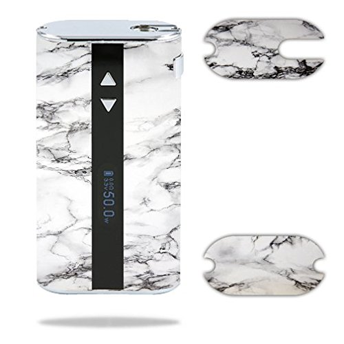 Decal Sticker Skin WRAP White Marble Design for...
