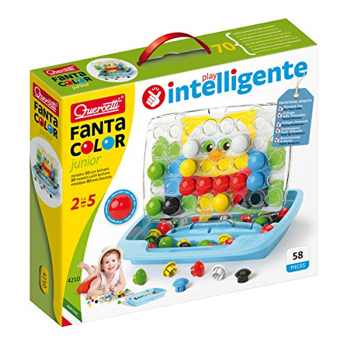 Quercetti Pixel Junior Art Toy, Multicolor