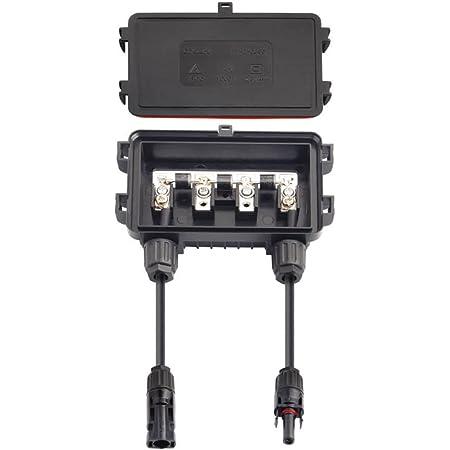1X In-Line Sicherung Steckverbinder DC 1000V 30A Stecker Zu Fem PV Solar Ersatz