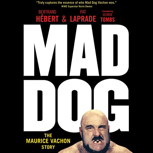 Mad Dog audiobook cover art