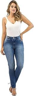 Calça Jeans Feminina Imporium Skinny Cintura Alta Cós Alto 19384