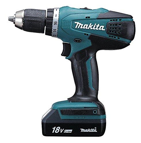 Makita Y/DF457DWE DF457DWE elektrisch gereedschap, 750 W, 18 V, zwart, blauw