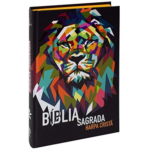 Bíblia Sagrada Leão - com Harpa Cristã: Almeida Revista e Corrigida (ARC)